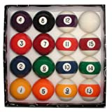 Trademark Global Deluxe Billiard Pool Ball Set