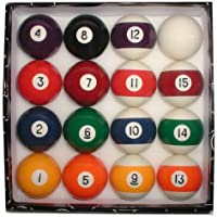 Trademark Deluxe Billiard Pool Ball Set