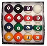 Trademark Deluxe Billiard Pool Ball Set