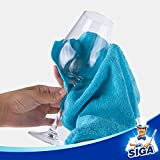 MR.SIGA Microfiber Cleaning Cloth,Pack of