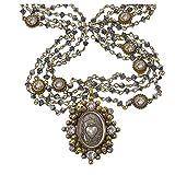 VSA - Virgins Saints and Angels Sacred Heart Bicone Magdalena Gold Chrome