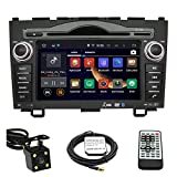 TLTek 7 inch HD 1024*600 Muti-touch Screen Car GPS Navigation System For Honda CR-V 2007-2011 Android DVD Player+Backup Camera+North America Map