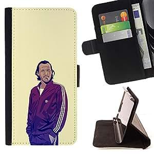 KingStore / Leather Etui en cuir / Sony Xperia Z3 D6603 / GOT BRONN
