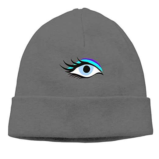 a0a3614d8e4 dan ding Beanies Hat Skull Caps Male Interesting Blue Eye Winter at ...