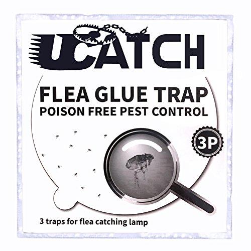 The Ultimate Flea Trap Refills – Disposable Flea Glue Refill Discs for Victor M230A Traps - 3 Pack ()