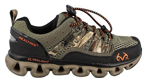 Boy's Realtree Outfitters, Shark Jr Shoe BROWN CAMO 3 M