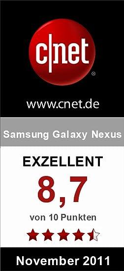 Samsung Galaxy Nexus I9250 Smartphone 4,65 Zoll: Amazon.de: Elektronik