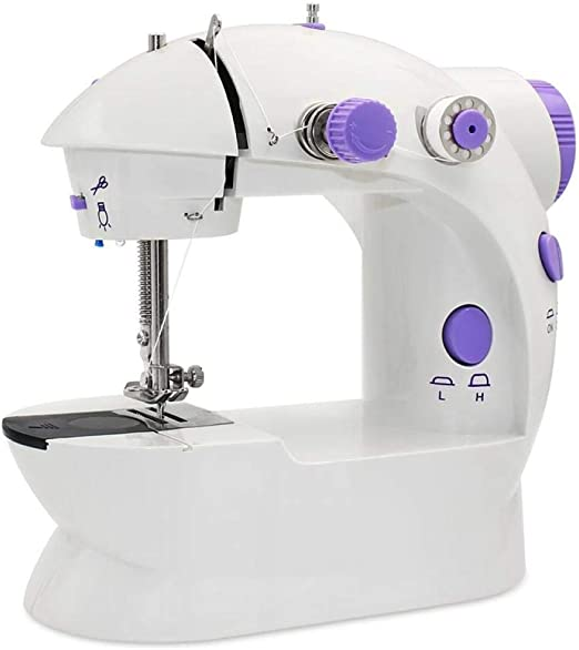Yuaer Mini máquina de coser, máquina de coser eléctrica portátil ...