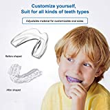 Kids Mouth Guard for Grinding Teeth, Pack of 4