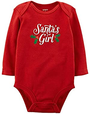Baby Girls' Slogan Bodysuit (Baby)