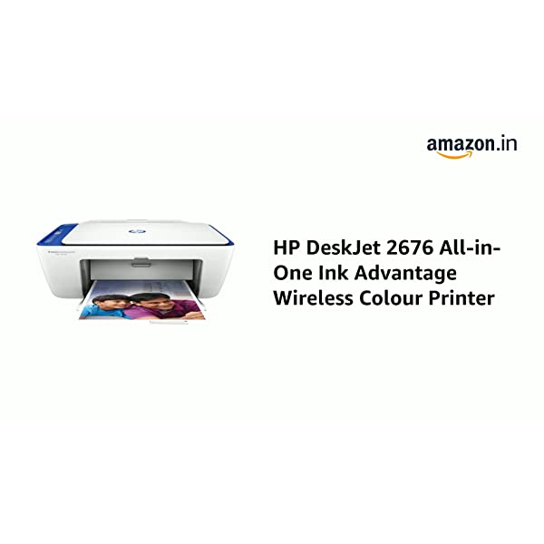 HP DeskJet 2676 All-in-One Ink Advantage Wireless Colour Printer 2