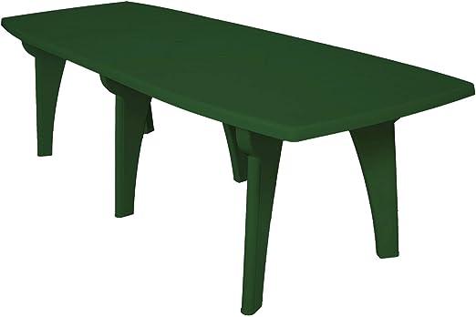 Mesa Mesa Rectangular 250 x 90 Lipari de dura resina de plástico ...