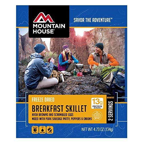 Mountain House Breakfast Skillet, 4.73 Oz, 13g of protein