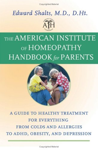 American Institute Homeopathy Handbook Parents product image