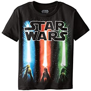 Star Wars Boys' Saber Rise T-Shirt