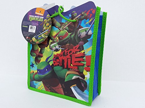 [Teenage Mutant Ninja Turtles Tote Bag] (Nickelodeon Teenage Mutant Ninja Turtles Treat Bags)