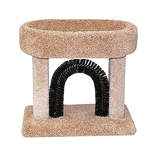 Pet Cradle Bed (Beatrise Pet Products Kitty Cradle with Brush)