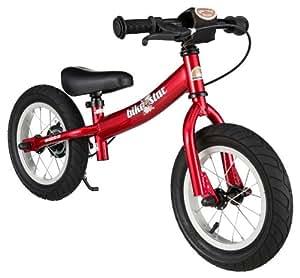 BIKESTAR® Premium 30.5cm (12 pulgadas) Bicicleta sin pedales para los exploradores mas valientes a partir de 3 años ★ Edición Sport ★ Rojo