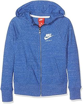 Nike G NSW VNTG Hoodie FZ Sudadera, Niñas