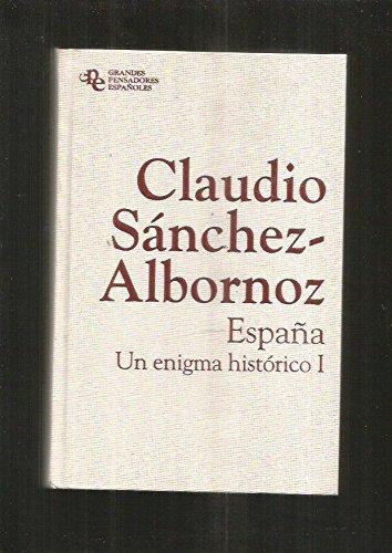 España. Un Enigma Histórico I: Amazon.es: Sánchez-Albornoz, Claudio: Libros