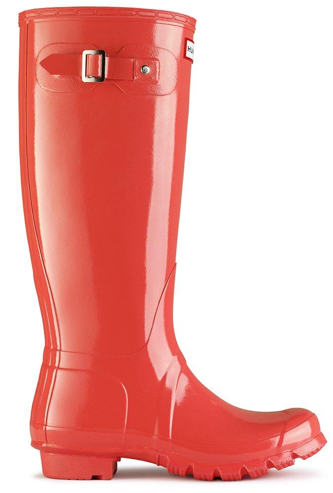 Hunter Original Tall Gloss, Botas de Agua para Mujer7 Rosa