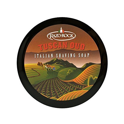 RazoRock Tuscan Oud Italian Shaving Soap (Best Italian Shaving Soap)