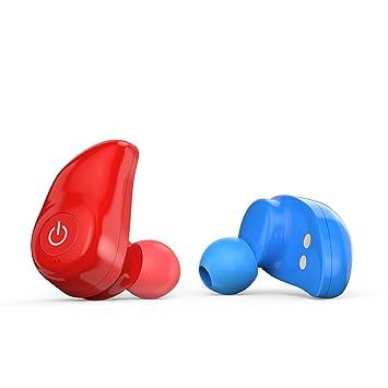 True Auriculares inalámbricos, mindkoo earteana i7 Bluetooth 4.1 APT-X Running HIFI inalámbrico auriculares