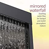 Alpine Corporation Mirror Waterfall Fountain with