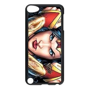 Customize Cartoon Wonder Woman Back Cover Case for ipod Touch 5 Kimberly Kurzendoerfer