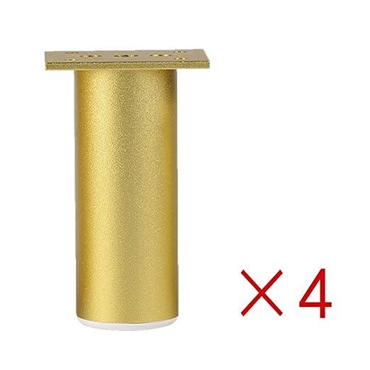 YDDHQ - Patas de Muebles Ajustables de Metal, 4 Piezas, Patas ...