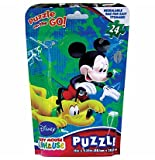 Mickey Mouse Clubhouse 24 pc Puzzle On The Go !