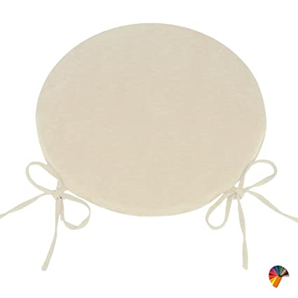 Cuscini Per Sedie Cucina Rotondi.Cuscino Casa Giardino Set 4 Pz Cuscini Sedie Cucina Rotondi