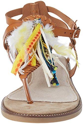 Cote Marrone D'azur Avia Caviglia Alla Sandali Cassis camel Con Cinturino Donna adpwxqaWPz