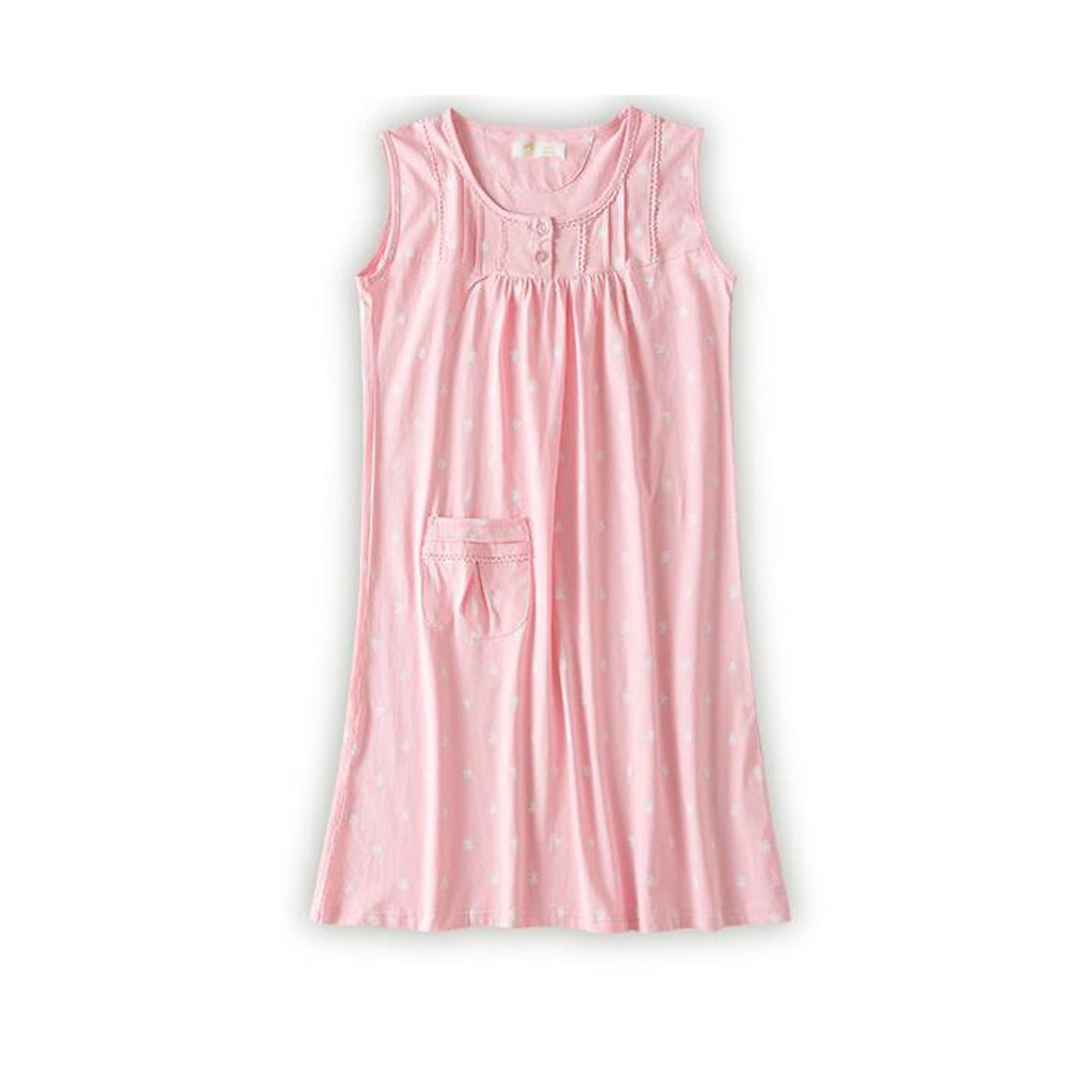 Pijamas de Algodón Nightdress Ladies Summer Dress Mujeres ...