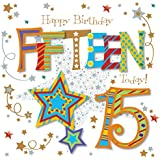 Fifteen Today 15th Birthday Greeting Card By Talking Pictures Greetings Cards