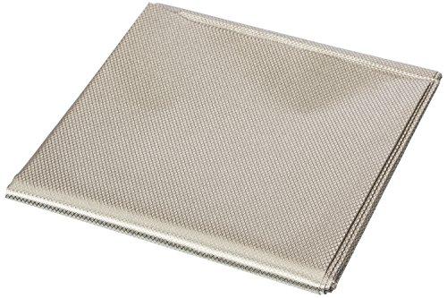 RFID Blocking Faraday Shielded Fabric: Radiation WIFI & RF Shielding: 24x24 Nickel & Copper EMF Identity Theft Blocker for your Wallet Phone or Laptop