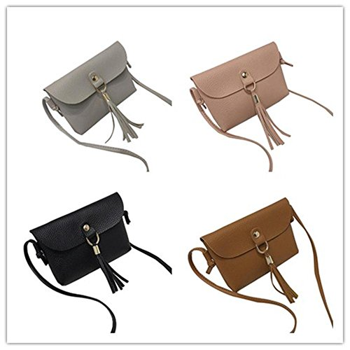 Pausseo Women Leather Small Wallet Card Holder Zip Coin Purse Clutch Handbag Coin Bag Key Holder Cosmetic Bag Makeup Case Shopping Packages Pencil Case Pen Bag for School Supplies (E=A+B+C+D) by Pausseo Office Stationery