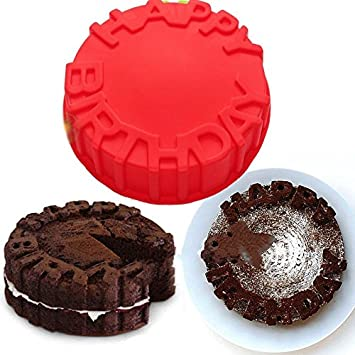 Vancgoods 7 Zoll Wort Alles Gute Zum Geburtstag Kuchen Backen Form