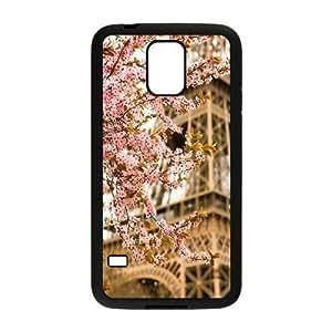 Flower Paris Custom Cover Case for SamSung Galaxy S5 I9600,diy phone case ygtg617434 by mcsharks