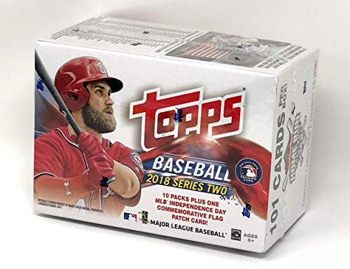 Large Product Image of Topps Baseball 2018 Series 2 Mass Value Box