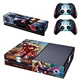Vanknight Vinyl Decal Skin Stickers Cover for Xbox One Console Kinect 2 Controllers