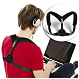 VOELUX Teens Posture Corrector Clavicle Support Brace For Kids, Children & Young Adults Upper Back