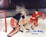 Signed Gordie Howe Picture - Mr HOF 1972 8x10 - Autographed NHL Photos