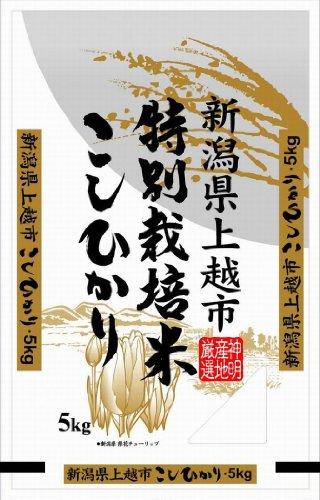 Japanese White Rice Koshihikari Made in Niigata 5kg by koshihikari