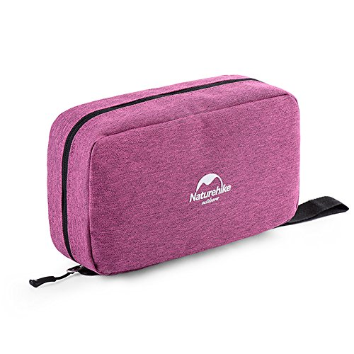 Bag Orchid - Naturehike Portable Travel Camping Hiking Toiletry Hanging Mens/Ladies Makeup Cosmetics Wash Bag (Medium Orchid)