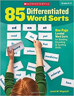Amazon 85 differentiated word sorts one page leveled word 85 differentiated word sorts one page leveled word sorts for building decoding spelling skills 1497 free shipping fandeluxe Choice Image