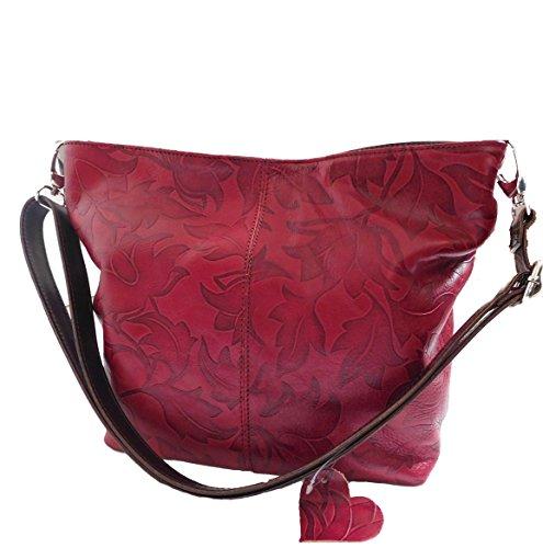 Tracolla Rossa Donna La Per In Pelle Bottega Carele 1XqPx1w