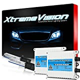 XtremeVision AC 35W HID Xenon Conversion Kit with Premium Slim Ballast - H1 5000K - Bright White - 2 Year Warranty