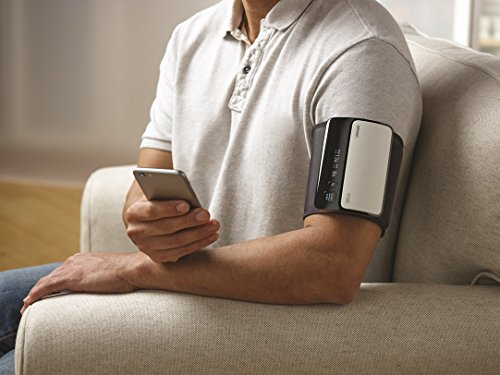 Omron Evolv Bluetooth Wireless Upper Arm Blood Pressure Monitor With Portable, Onepiece Design - Works with amazon Alexa ByOmron