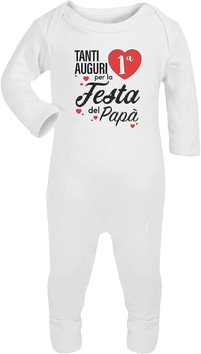 Tanti Auguri per la Prima Festa del pap/à Tutina Neonato